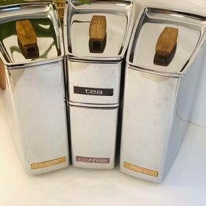 Vintage | Lincoln Beautyware Canisters Set